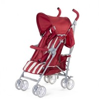 Buggy retro stripes rood