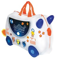TRUNKI RIDE-ON : RUIMTESCHIP MET STICKERS