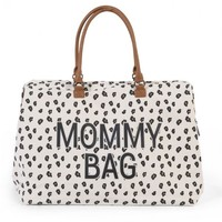 MOMMY NBAG BIG CANVAS LEOPARD